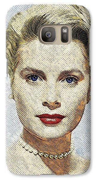 Grace Kelly Galaxy Case by Taylan Apukovska