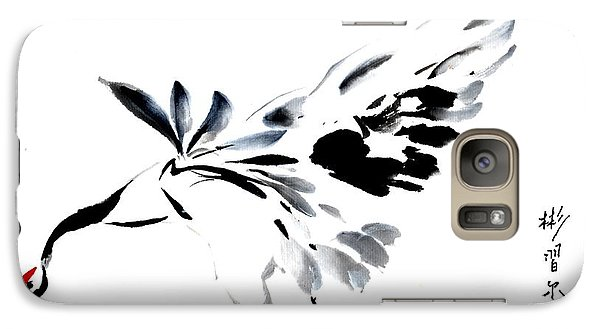 Galaxy Case featuring the painting Grace Of Fortune by Bill Searle