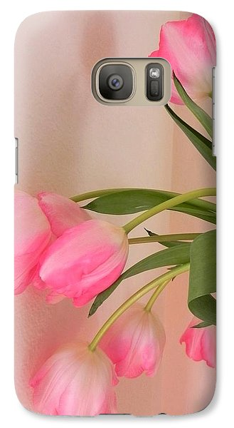 Galaxy Case featuring the photograph Graceful And Delicate by Peggy Stokes