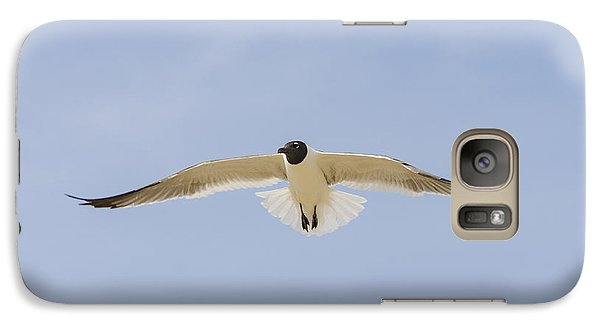 Galaxy Case featuring the photograph Graceful Gull by Bradley Clay