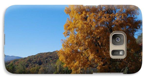 Galaxy Case featuring the digital art Graceful In Gold by Kelvin Booker