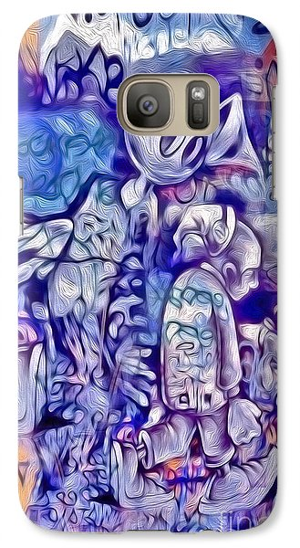 Galaxy Case featuring the digital art Graffiti - 001 by Gregory Dyer