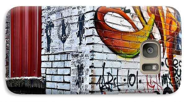 Galaxy Case featuring the photograph Graffiti Alley by Greg Jackson