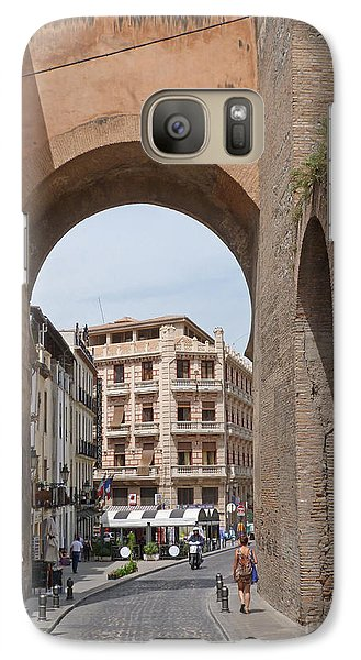 Galaxy Case featuring the photograph Granada Old City Gateway by Phil Banks
