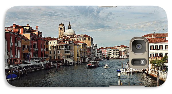 Galaxy Case featuring the photograph Grand Canal In Venice by Cendrine Marrouat