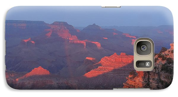 Galaxy Case featuring the photograph Grand Canyon At Sunset by Jayne Wilson