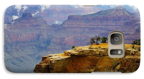 Galaxy Case featuring the photograph Grand Canyon Clearing Storm by Terry Garvin