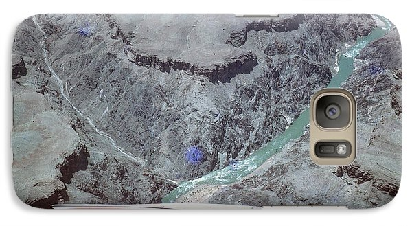 Galaxy Case featuring the photograph Grand Canyon From The Air by John Mathews