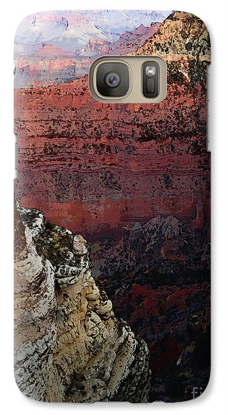 Galaxy Case featuring the digital art Grand Canyon I - Spring 2014 by David Blank