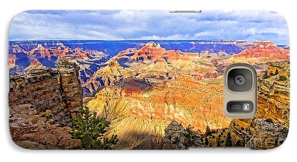 Galaxy Case featuring the photograph Grand Canyon by Jason Abando