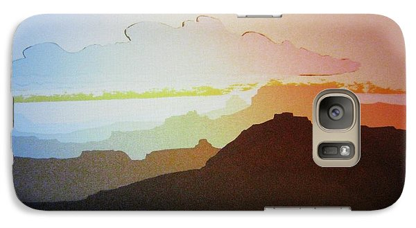 Galaxy Case featuring the painting Grand Canyon by John  Svenson