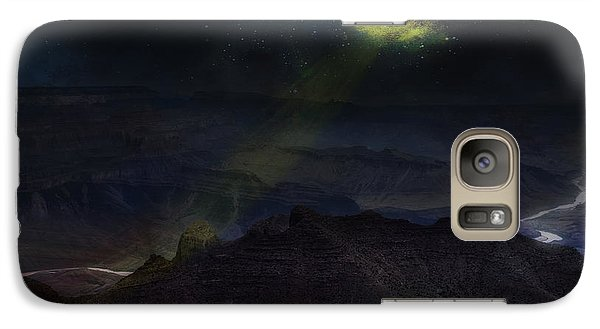 Galaxy Case featuring the photograph Grand Canyon Night Sky by James Bethanis