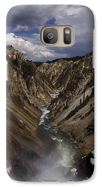Galaxy Case featuring the photograph Grand Canyon Of The Yellowstone - 25x63 by J L Woody Wooden