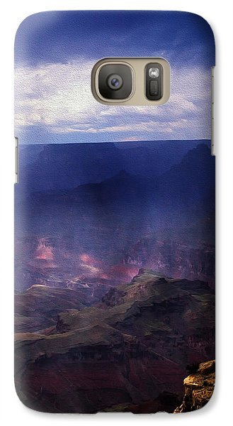 Galaxy Case featuring the photograph Grand Canyon Oil by James Bethanis