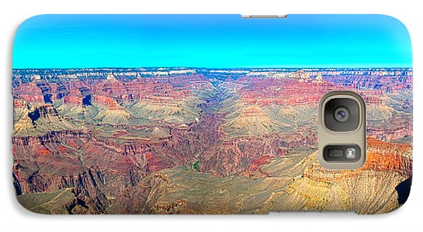 Galaxy Case featuring the photograph Grand Canyon Panorama by Penny Lisowski