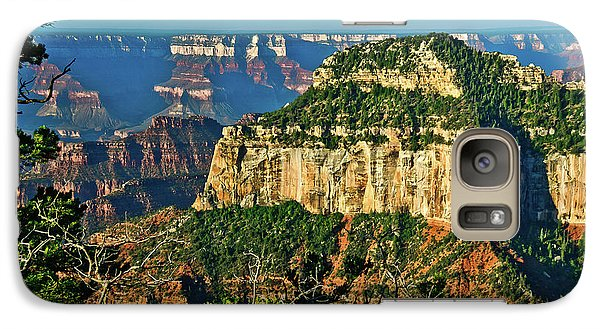 Galaxy Case featuring the photograph Grand Canyon Peak Angel Point by Bob and Nadine Johnston