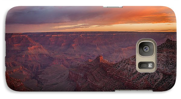 Galaxy Case featuring the photograph Grand Canyon Sunrise by James Bethanis