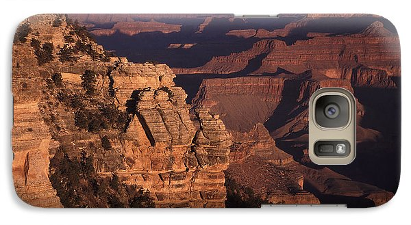 Galaxy Case featuring the photograph Grand Canyon Sunrise by Liz Leyden