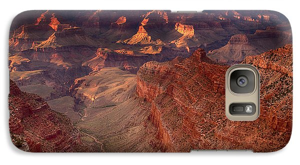 Galaxy Case featuring the photograph Grand Canyon Sunset by James Bethanis
