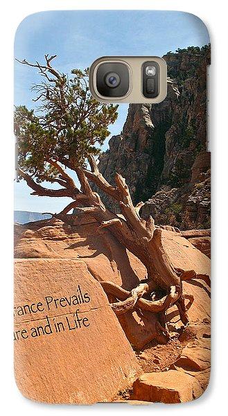 Galaxy Case featuring the photograph Grand Canyon Survivor by Kathleen Scanlan