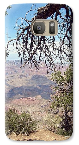 Galaxy Case featuring the photograph Grand Canyon View 1 by Philomena Zito