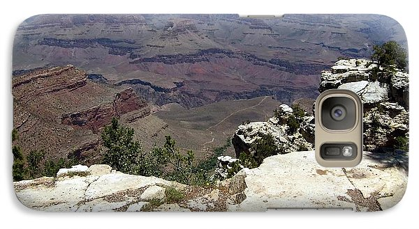 Galaxy Case featuring the photograph Grand Canyon View 2 by Philomena Zito