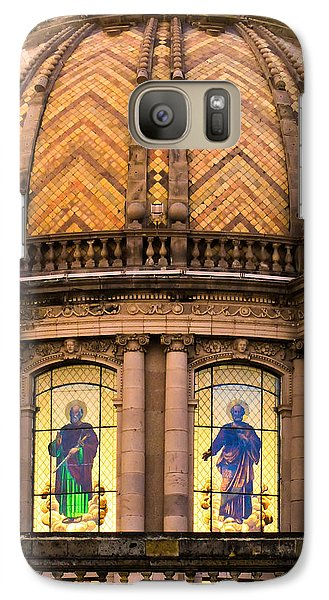 Galaxy Case featuring the photograph Grand Cathedral Of Guadalajara by David Perry Lawrence