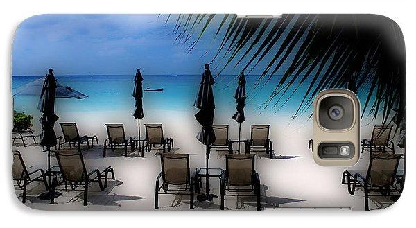 Galaxy Case featuring the photograph Grand Cayman Dreamscape by Caroline Stella