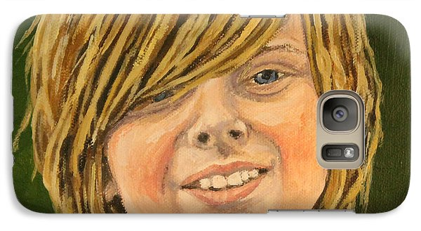 Galaxy Case featuring the painting Grand Christian by Wendy Shoults