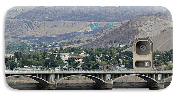 Galaxy Case featuring the photograph Grand Coulee Dam  by E Faithe Lester