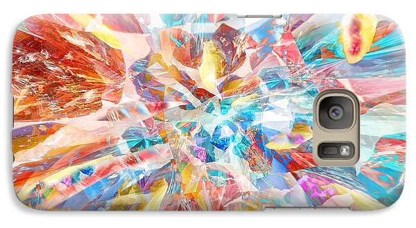Galaxy Case featuring the digital art Grand Entrance by Margie Chapman