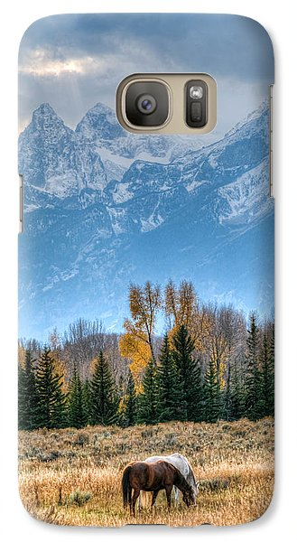 Galaxy Case featuring the photograph Grand Landscape  by Kelly Marquardt
