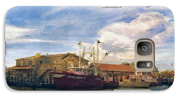 Galaxy Case featuring the photograph Grand Larson IIi Fishing Vessel by John Rivera