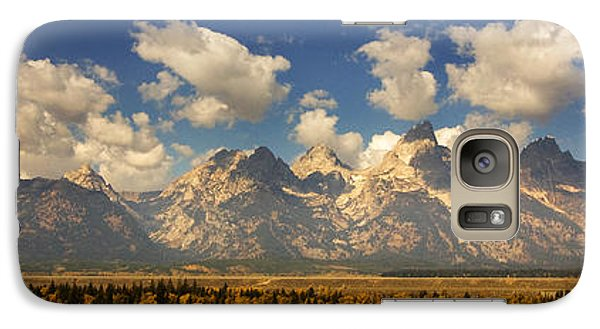 Galaxy Case featuring the photograph Grand Tetons by Sonya Lang