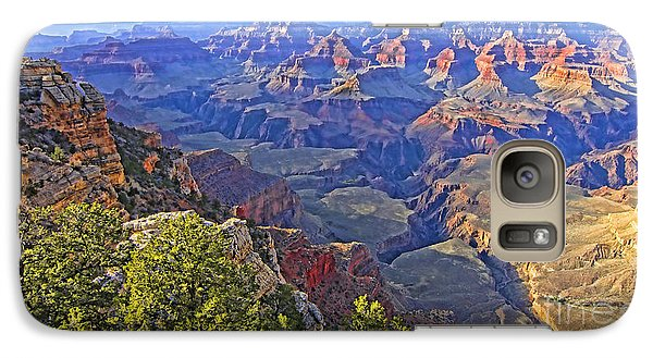 Galaxy Case featuring the photograph Grand View Canyon by Jason Abando