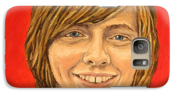 Galaxy Case featuring the painting Grand Zach by Wendy Shoults