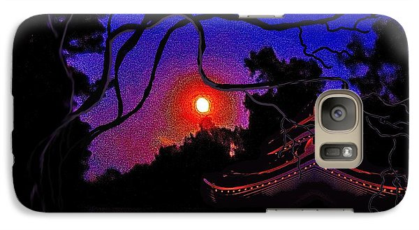 Galaxy Case featuring the painting Grandmother Embracing Faith by Yolanda Raker