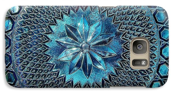 Galaxy Case featuring the photograph Grandmother's Antique Platter by Kathi Mirto