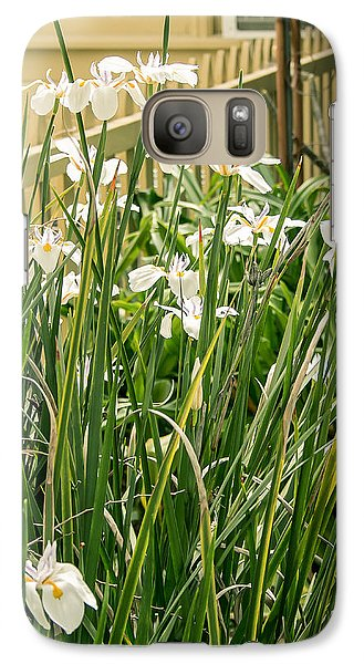 Galaxy Case featuring the photograph Grandpa's Lilies by Jan Davies