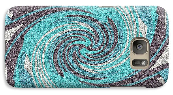 Galaxy Case featuring the digital art Granite Tile 1 by Brian Johnson