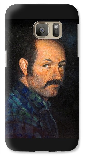 Galaxy Case featuring the painting Grant by Donna Tucker