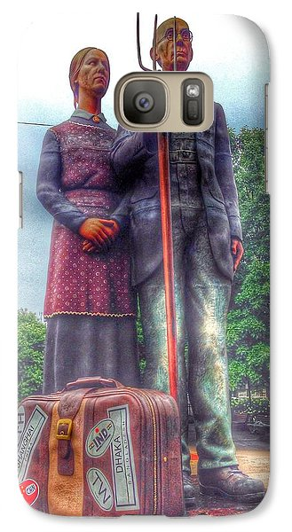 Galaxy Case featuring the photograph Grant's Muse by Jame Hayes