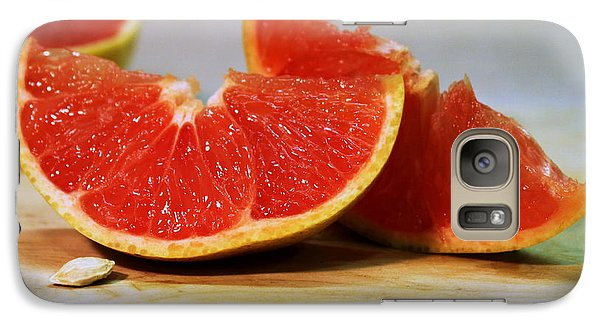 Grapefruit Slices Galaxy S7 Case