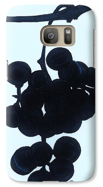 Galaxy Case featuring the drawing Grapes by D Hackett