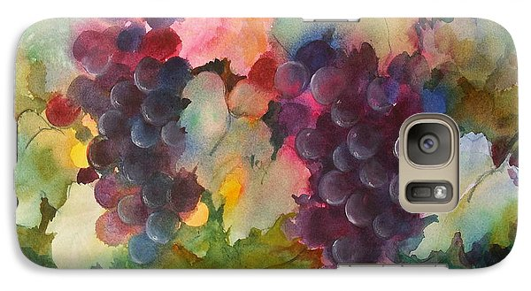 Galaxy Case featuring the painting Grapes In Light by Michelle Abrams