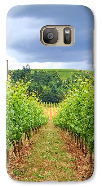Galaxy Case featuring the photograph Grapes Of Wrath by Debra Kaye McKrill