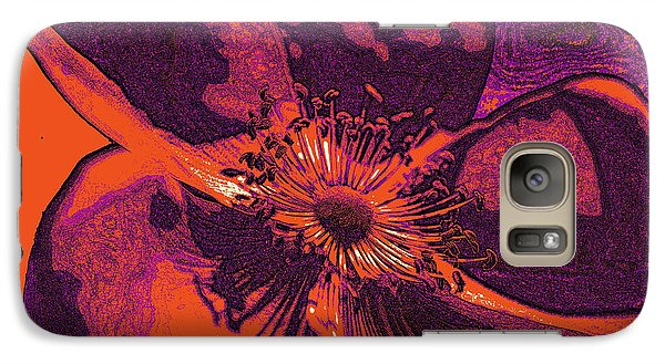 Galaxy Case featuring the photograph Graphic Rose by Kelly Nowak