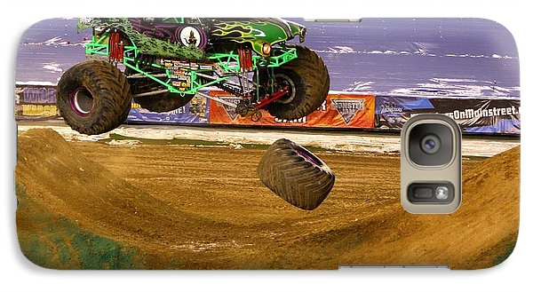 Grave Digger Loses A Wheel Galaxy S7 Case by Nathan Rupert