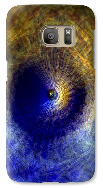 Galaxy Case featuring the photograph Gravitation by Martina  Rathgens