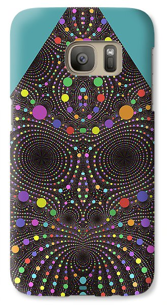 Galaxy Case featuring the digital art Gravity And Magnetism by Mark Greenberg